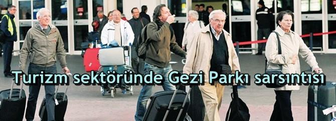 Turizm sektöründe Gezi Parkı sarsıntısı