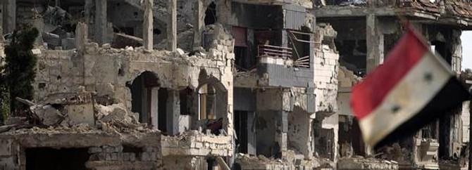 "Esad güçlerinden ""Humus"" misillemesi"