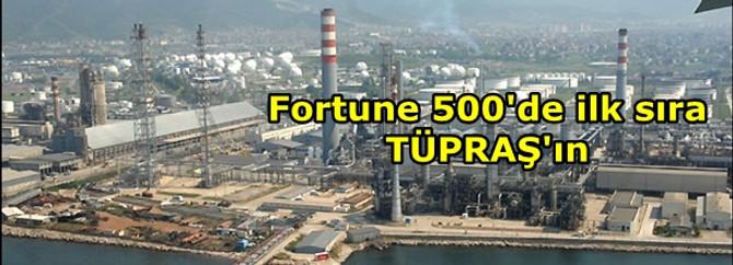 Fortune 500'de ilk sıra TÜPRAŞ'ın