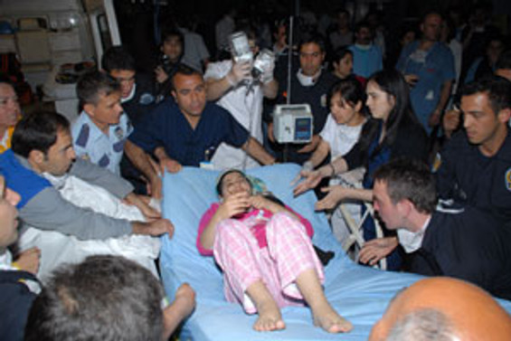 Hastanede yangın: 8 ölü