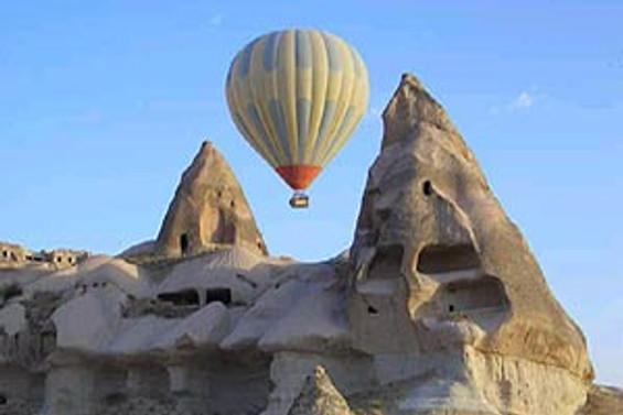 Balonlar, Kapadokya'nın tanıtım yüzü oldu