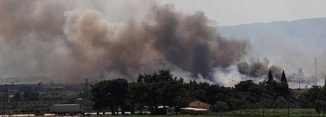 Manavgat'ta orman yangını sürüyor