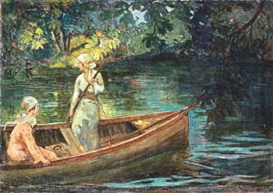 Çallı'nın tablosu, 600 bin TL'ye satıldı