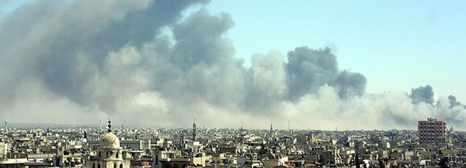 Humus'ta patlama: 40 ölü