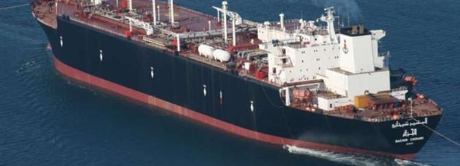 Dev doğalgaz tankeri, boğazı kapattı