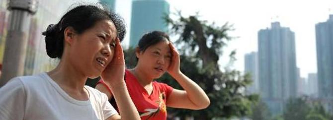 Çin kavruluyor