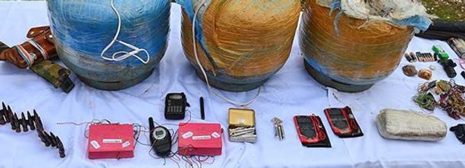 Bomba imha cihaz ve parçaları alınacak