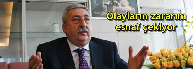 """""""Gezi Parkı olaylarının zararını esnaf çekiyor"""""""