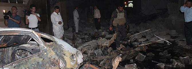 Irak yine kana bulandı