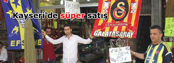 Süper Kupa, pastırma ve sucuk satışını artırdı