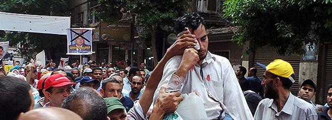 Mısır'da göstericilere müdahale