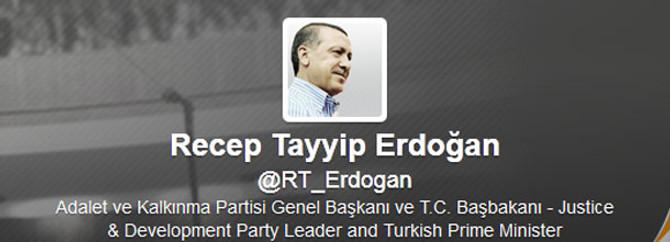 En çok takipçi Başbakan Erdoğan'da