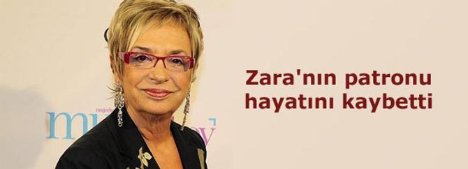 Zara'nın patronu hayatını kaybetti
