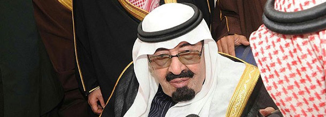 Kral Abdullah'tan Sisi'ye destek
