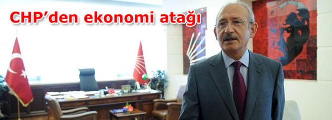 CHP'den ekonomi atağı