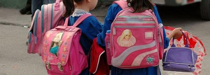 Okul çantaları hafifleyecek