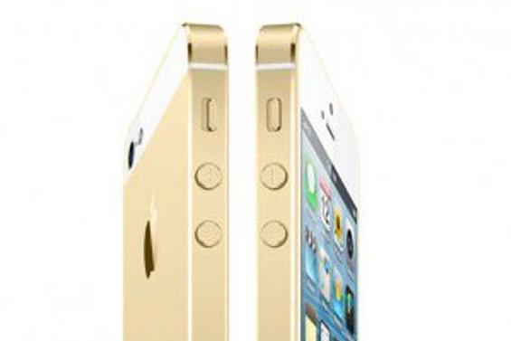 'Altın' iPhone 5S gerçekten göründü