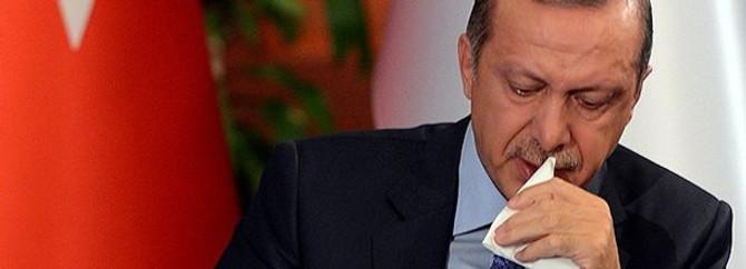 Erdoğan canlı yayında ağladı