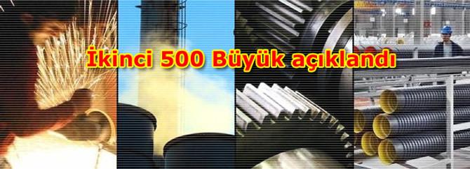 İkinci 500 Büyük açıklandı