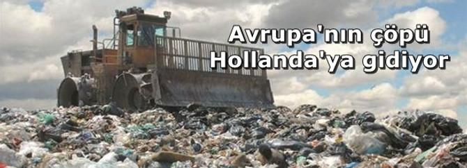 Avrupa'nın çöpü Hollanda'ya gidiyor