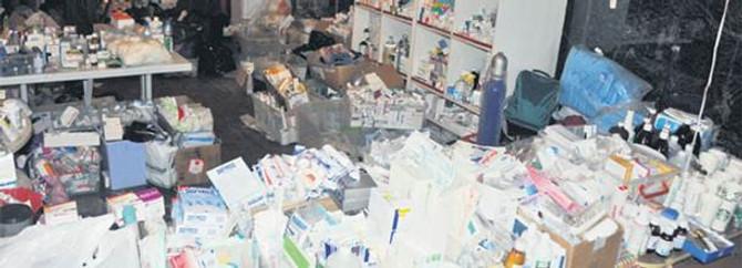 Gezi direnişçilerinin ilaçları imha edilecek