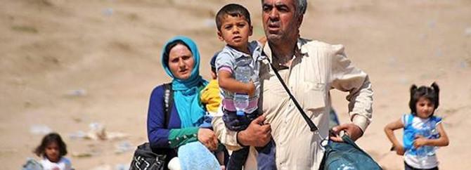Suriye'den kaçış başladı