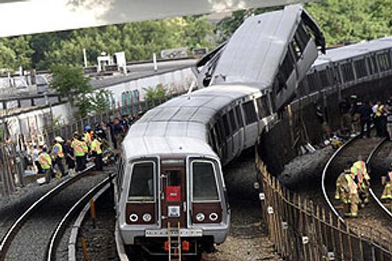 Washington'da metro kazası: 6 ölü