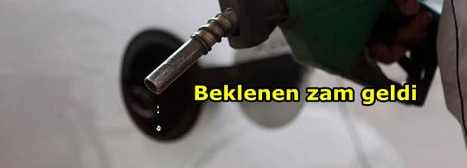 Benzine 14 kuruşluk zam