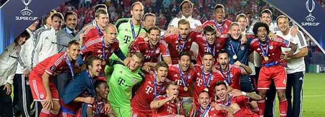 Süper Kupa Bayern Münih'in