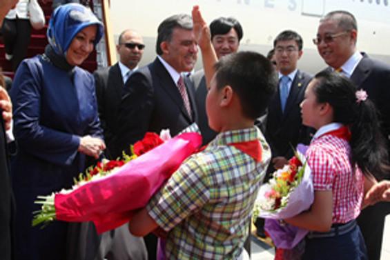 Cumhurbaşkanı Gül, Çin'de