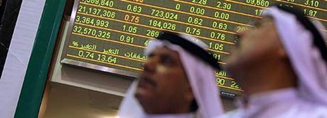 Arap borsalarına petrol darbesi