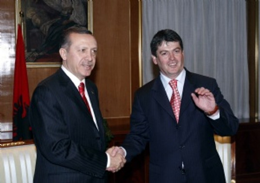 Erdoğan, Arnavutluk Cumhurbaşkanı ile görüştü