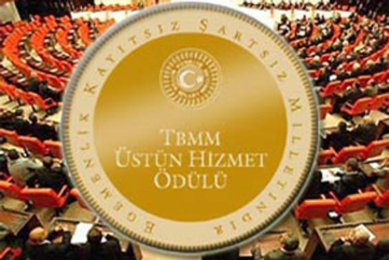 TBMM, Üstün Hizmet Ödülleri'ni bugün verecek