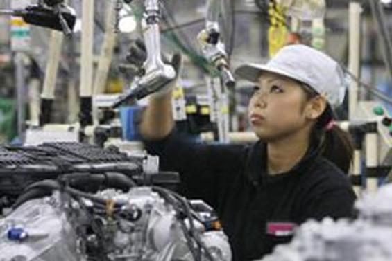 Japonya'da ihracat hızı yavaşlamaya devam ediyor