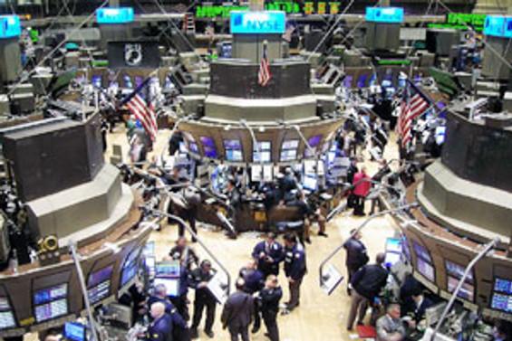 Wall Street'te Dow Jones yükseldi, Nasdaq düştü