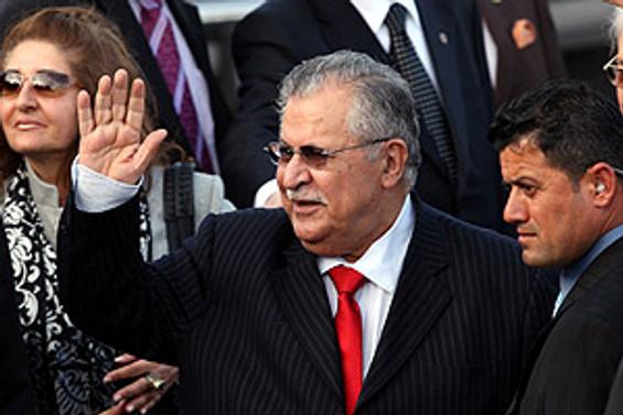 Talabani'nin sürpriz görüşmesi