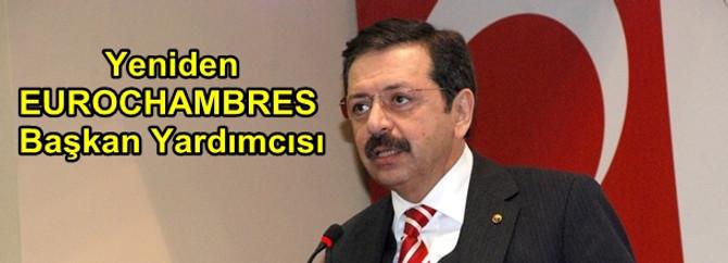 Hisarcıklıoğlu yeniden EUROCHAMBRES Başkan Yardımcısı