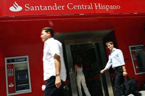 Santander  Bank zarar etti