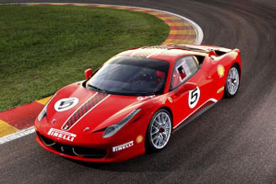 Ferrari 458 Italia'nın yarışçı versiyonu görücüye çıktı