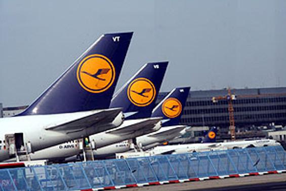 Lufthansa 104 milyon euro zarar etti