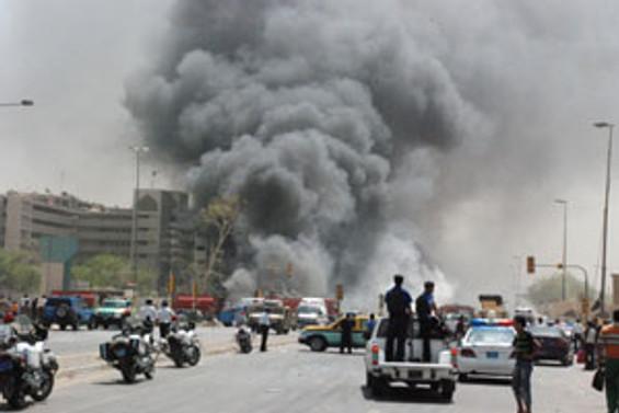 Bağdat'taki saldırılarda 1 Türk öldü