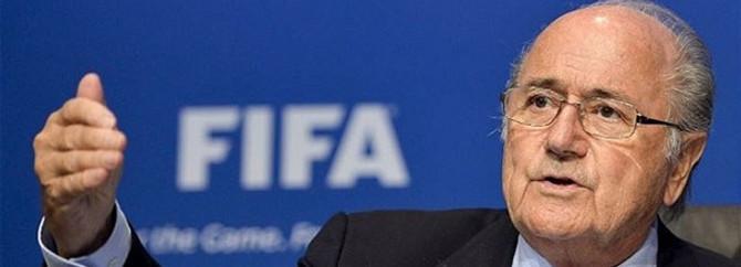 Blatter'den Brezilya'ya eleştiri
