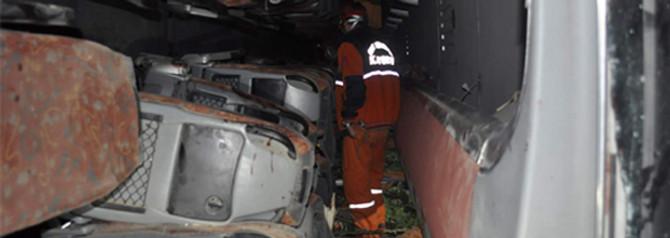 Zonguldak'ta otobüs devrildi, 32 yaralı var
