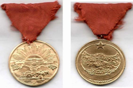 İstiklal madalyası 87 yıl sonra verildi