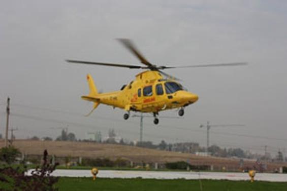 Helikopter ambulans dönemi başlıyor