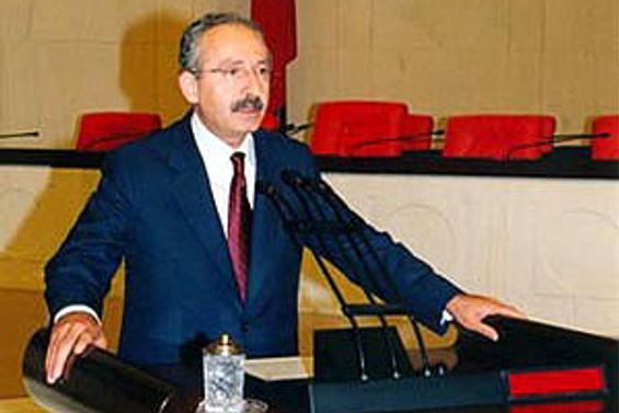 Kılıçdaroğlu'ndan Dişli belgesi