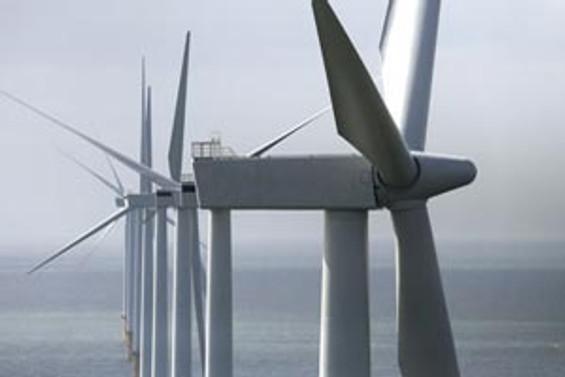En büyük rüzgar çiftliği İngiltere'de kuruldu