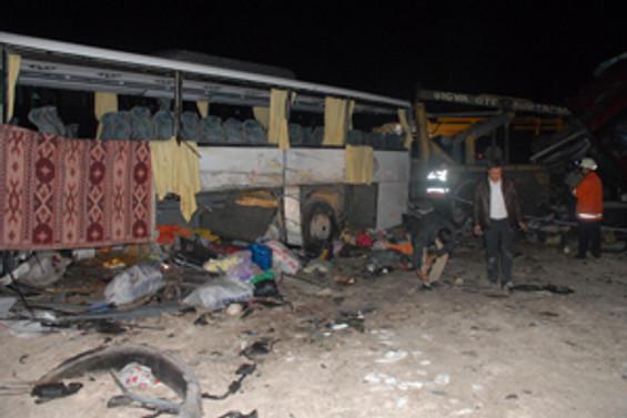 Şanlıurfa'da korkunç kaza: 2 ölü 40 yaralı