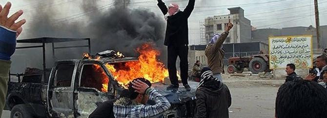 Irak'ta bu kez askerle aşiret çatıştı