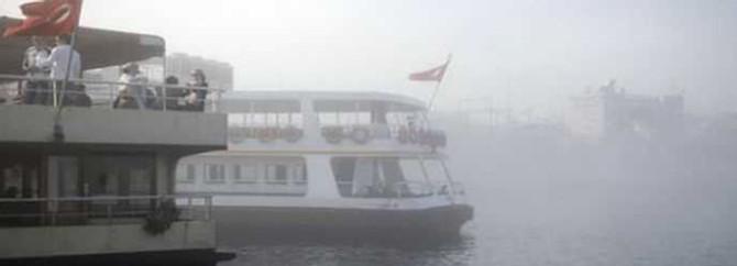 Çanakkale Boğazı'nda sis engeli